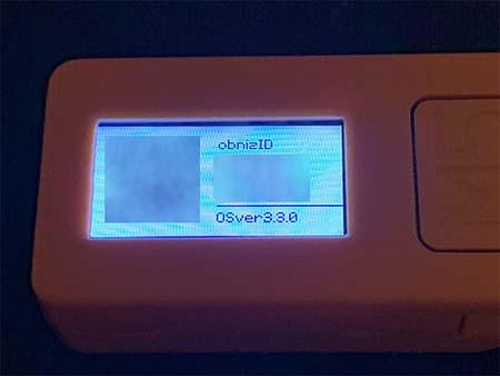 M5StickCの画面