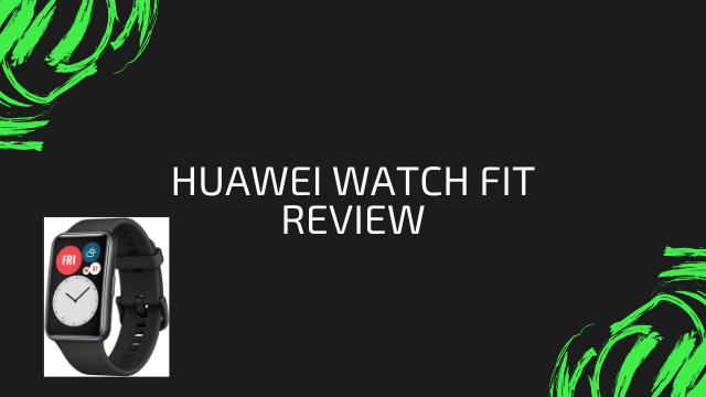 [5ヶ月使用レビュー]HUAWEI WATCH FITは完成度が高すぎる