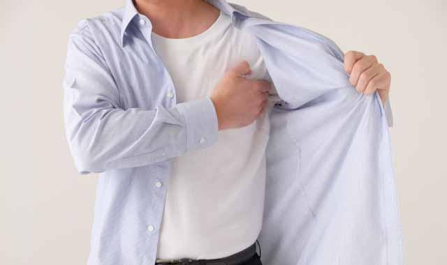 アンダーシャツを着替えればいいってもんじゃない